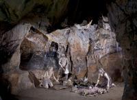 3 Mladečské jeskyně   Dóm Mrtvých, rituální obřad, foto Petr Zajíček